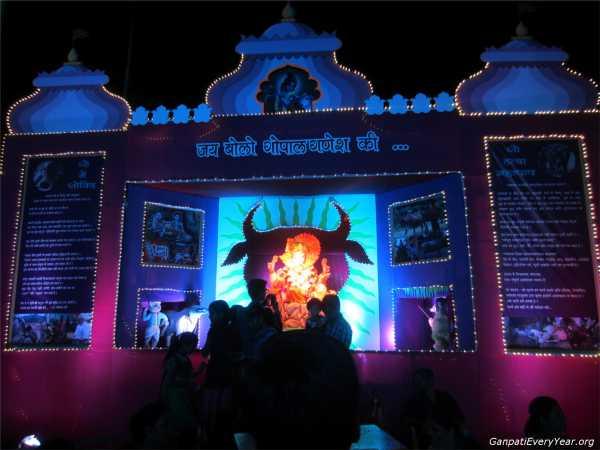 Ganesh Sola ka raja ahmedabad 2016