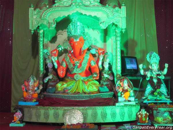 Ganesh at Jodhpur Village Ahmedabad 2016