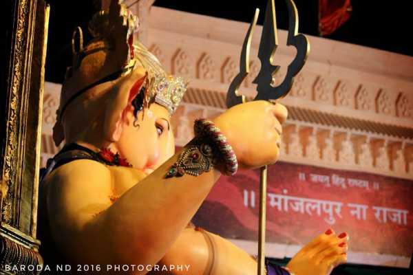Ganpati Manajalpur Na Raja Baroda 2016