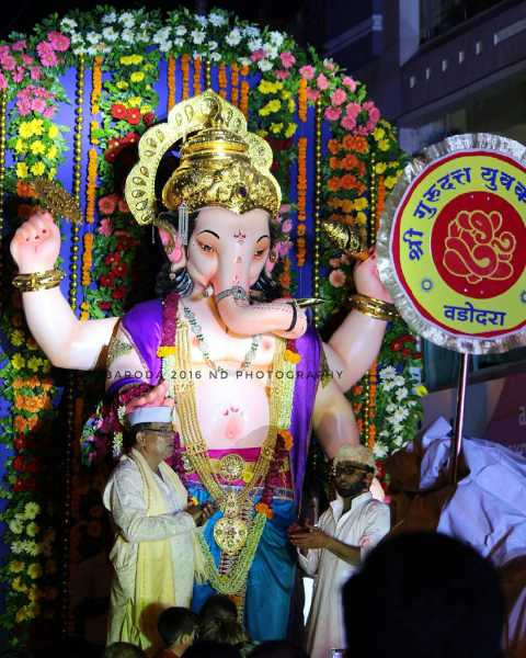 Ganesha at Shree Gurudutt Yuvak Mandal Baroda 2016