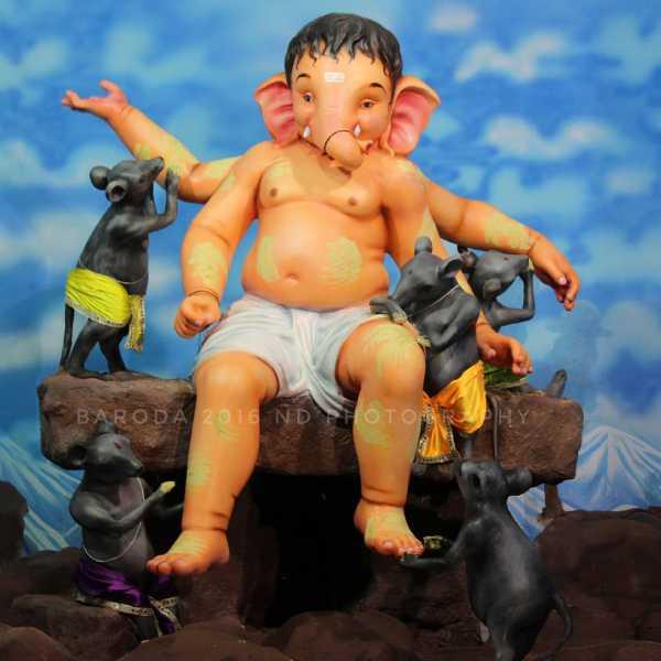 Ganesh at Khatri Pol Baroda 2016