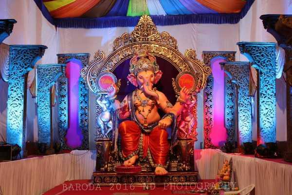 Ganesha at Koyali Faliyu Baroda 2016