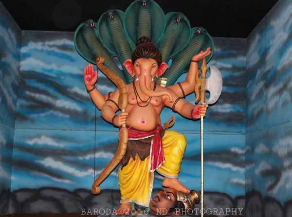 Ganesh at Marimata Yuvak Mandal Baroda 2016