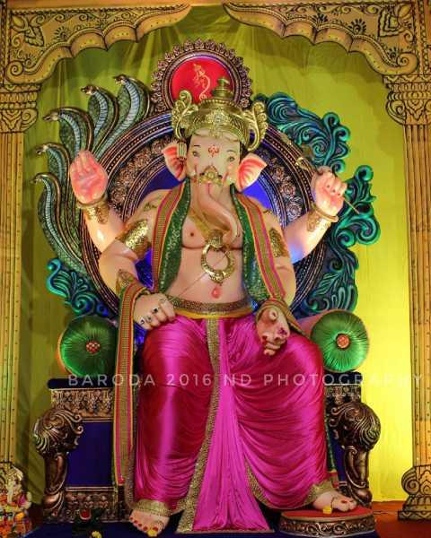 Ganesh at Navyug Mandal Baroda 2016