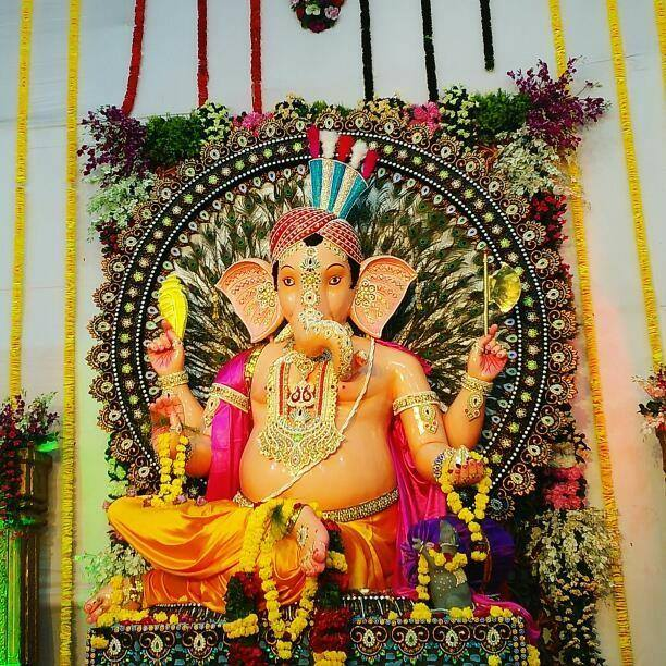 Ganpati Race Course Road Rajkot 2017